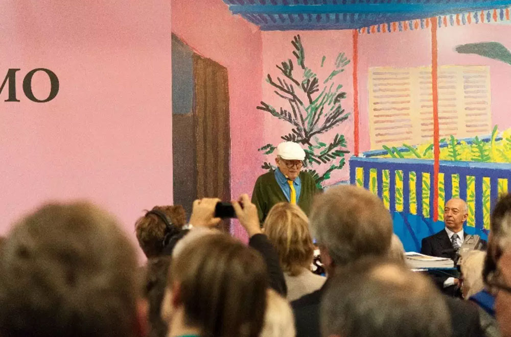 Grandad, David Hockney and integrity